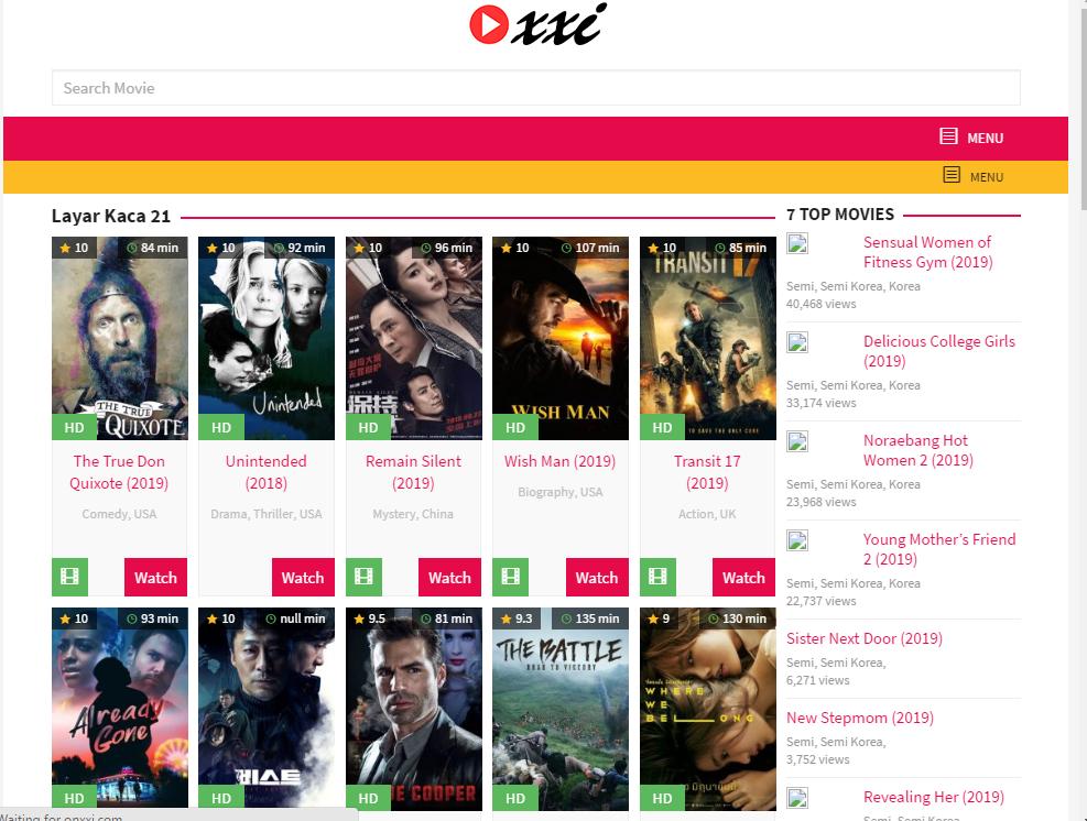 OnXXI – Nonton Film OnXXI Sub Indonesia Gratis – LayarKaca21